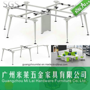 High Quality Office Furniture Staff Table with Metal Frame pictures & photos