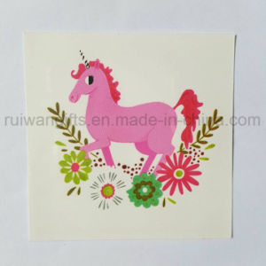 Children Cartoon Temporary Tattoo Sticker for Food Souvenirs pictures & photos