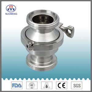 Sanitary Stainless Steel Maled Threaded Check Valve (SMS-RZ2109) pictures & photos