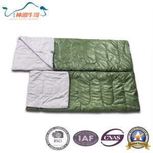 Best Price Comfortable Double Sleeping Bag for Camping pictures & photos