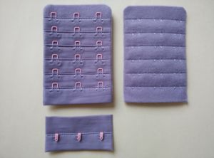 """Spectial 6 Rows Bra Accessories Hook and Eye Tape 3/4"""" 6X3 pictures & photos"""