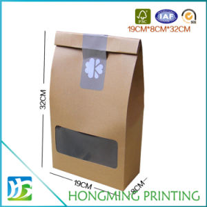 Custom Logo Printed Recycled Brown Kaft Paper Packaging Box pictures & photos