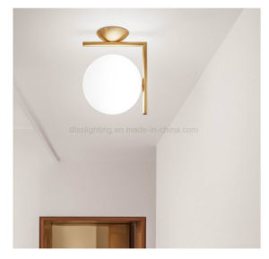 Hotsale Round Ball Metal and Glass Wall Lamp pictures & photos