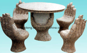 Granite Hand Shaped Whole Set Table pictures & photos
