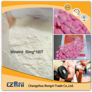 High Quality Oral Bodybuilding Hormone Winstrol Steroid Hormone pictures & photos