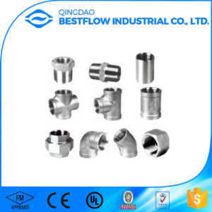Stainless Steel 304/316 Screwed Fittings pictures & photos