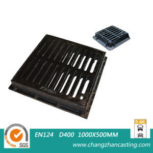 Extra Heavy Duty Ductile Iron BS En124 E600 Gully Gratings pictures & photos