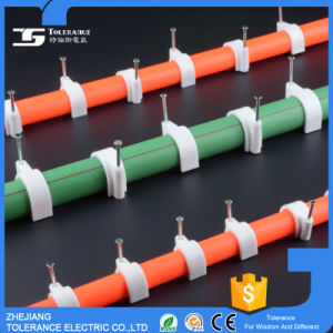 H Type Plastic Fastener Nail Cable Clip