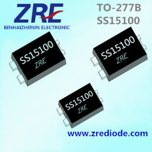 15A Ss1540 Thru Ss15100 Schottky Bridge Rectifier Diode 100V to-277b Package pictures & photos