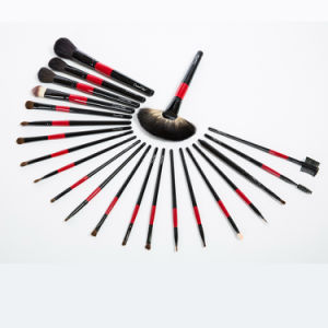 22PCS Animal Hair Professional Makeup Brush Set with Cosmetic Bag pictures & photos