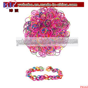 Party Items Rubber Loom Bands Birthday Party Gifts (P4142) pictures & photos