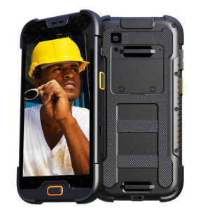 IP68 4G Lte Rugged Smart Phone with 1/2D Barcode Scanner Feature pictures & photos