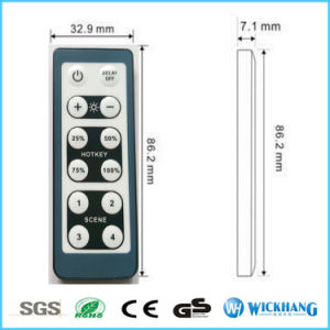 LED Dimmer 12V-24V 6A IR Smart Remote Controller Adjust Single Color 3528 5630 pictures & photos