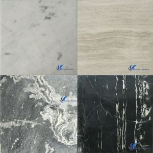 Customized Natural White Grey Beige Brown Black Marble Flooring pictures & photos