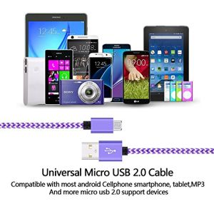 Micro USB Cable 2A Quick Charge Durable High Speed USB 2.0 a Male to Micro B Sync and Charging Data Cables for Samsung for Android pictures & photos