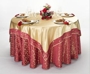 Hotel Banquet Dining Chair & Table Cloth pictures & photos