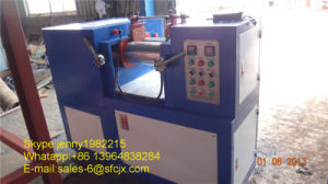 Rubber Open Mixing Mill and Using in Lab (Xk-160) pictures & photos