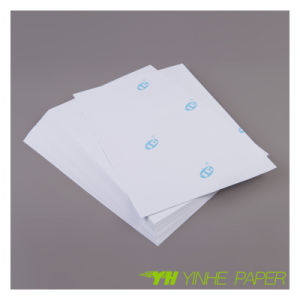 Self Adhesive Fluorescent Sticker Paper pictures & photos