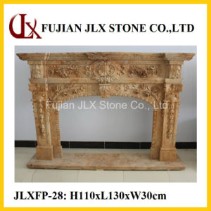 Stone Fireplace Mantel pictures & photos