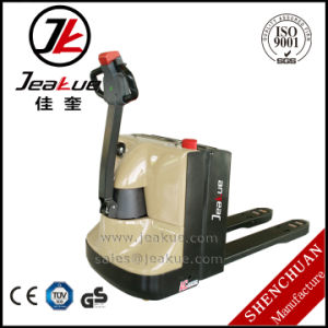 2017 New 2.5t Walkie Type Manufacturer Full Electric Pallet Truck pictures & photos