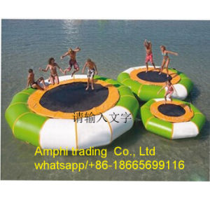 Inflatable Water Trampoline, Adult Bouncer Jumping Bed/Water Park Floating pictures & photos