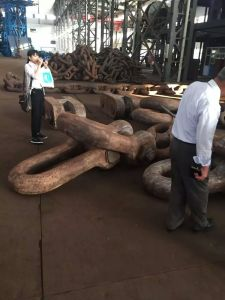 Marine Anchor Chain Cable Studlink Anchor Chain Studless Mooring Chain with Good Price pictures & photos