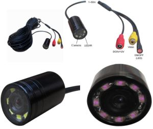 Long Cable Customized Underwater Mini Waterproof Inspection Fishing Camera with LED IR Lights pictures & photos