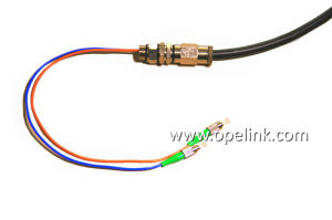 Optical Fiber Waterproof Patch Cord Optical Fiber for CATV /LAN/Test Equipment pictures & photos
