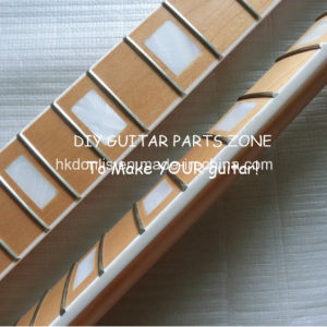Block Inlay Custom Canadian Maple St Guitar Neck with Binding pictures & photos