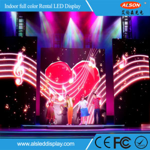 High Resolution P4.81 Rental Indoor LED Display for Events pictures & photos