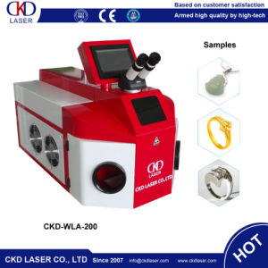 Tableware Jewelry Welding YAG Laser Machine for Ring Necklace pictures & photos