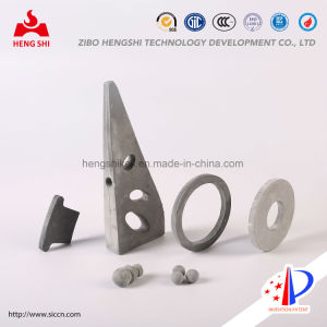 Silicon Nitride Bonded Silicon Carbide Irregular Structural Products for Metallurgy Industry pictures & photos