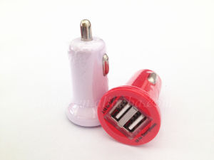 Wholesale Universal Dual 2 USB 5V 2.1A in Car Charger pictures & photos