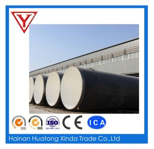 Large Diameter PE Coated Fbe Painted Spiral  Anti-Corrosivesteel  Pipe  for Waste Water Transmission pictures & photos