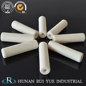 Techincal 99% Alumina Ceramic Tube with Good Heat Resistance pictures & photos