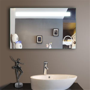 Wall Mounted Bathroom Fogless LED Light Mirror for Hotel pictures & photos