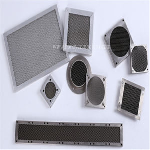 Steel Ventilation Panel Filter Yellow Chromated (HR333) pictures & photos
