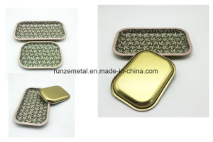 Smoking Making Tin Tray Rolling Container Wholesale pictures & photos