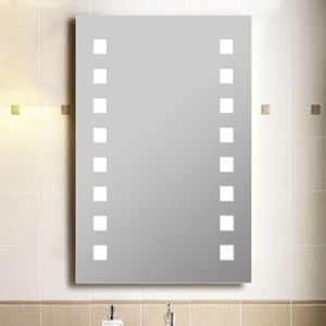 Square Beveled Full Length Wall Mounted LED Light Mirror pictures & photos