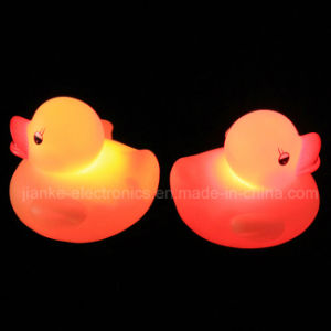 Custom Logo Rubber Flashing LED Yellow Duck (3561) pictures & photos