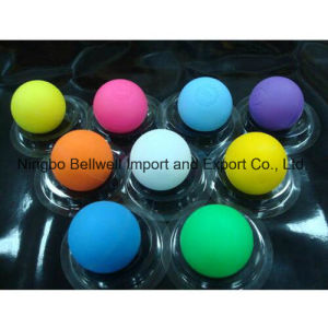 Colorful International Standard Rubber Lacrosse Ball pictures & photos