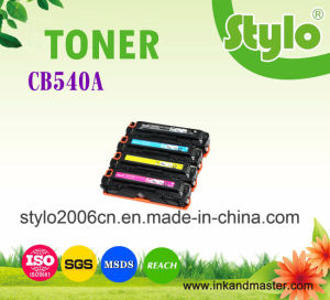 Compatible HP Printer Consumables CB540A/CB542/CB543/CB541 Toner Cartridge pictures & photos