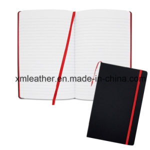 Leather Exercise Notebooks Journals with Elastic Band pictures & photos