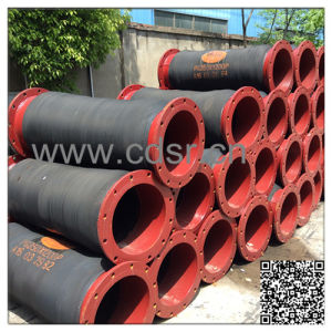 Flexible Rubber Discharge Dredging Hose