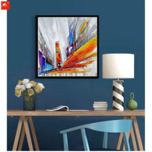 2017 New Street Wall Picture Abstract Modern Oil Painting pictures & photos