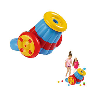 PVC Inflatable Cannon Toy for Kids and Children pictures & photos