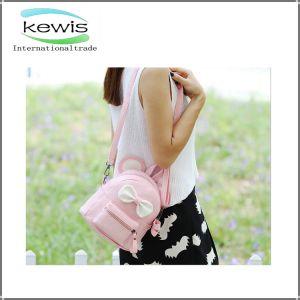Waterproof Removable Shoulder Strap PU Backpack pictures & photos
