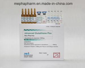 Hungary Brand Injectable Glutathione for Skin Whitening1500mg 3000mg (5+10) pictures & photos
