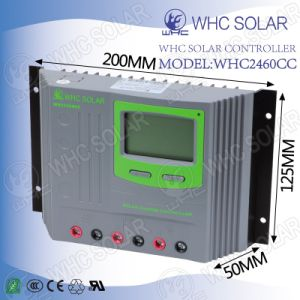 Factory Price 12/24V 60A LCD PWM Homemade Solar Controller pictures & photos