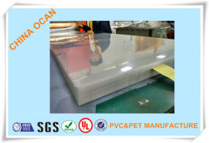 1.0mm Clear Rigid PVC for Mould pictures & photos